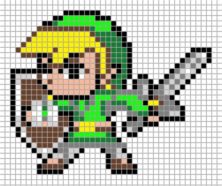 Avril 2016 Pixel Arts Family